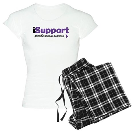 iSupport Domestic Violence Women's Light Pajamas