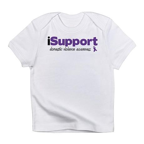 iSupport Domestic Violence Infant T-Shirt