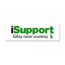iSupport Kidney Cancer Car Magnet 10 x 3
