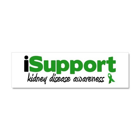iSupport Kidney Disease Car Magnet 10 x 3