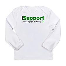 iSupport Kidney Disease Long Sleeve Infant T-Shirt
