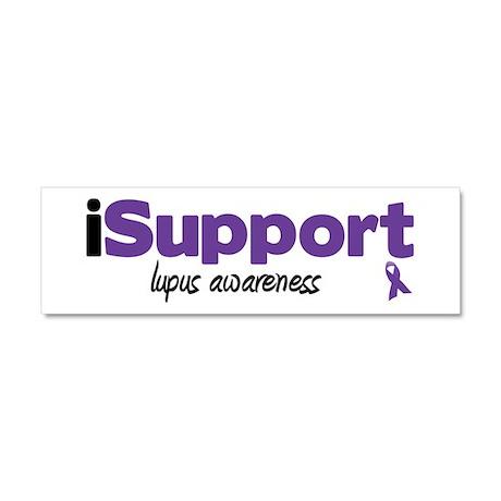 iSupport Lupus Car Magnet 10 x 3