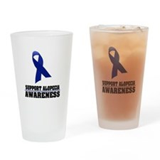 Alopecia Awareness Pint Glass