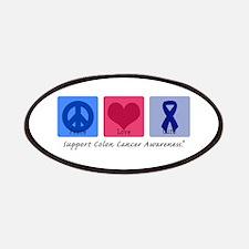 Peace Love Colon Cancer Patches
