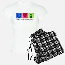 Peace Love Cure KD Pajamas