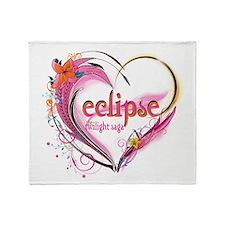 Eclipse Heart Throw Blanket