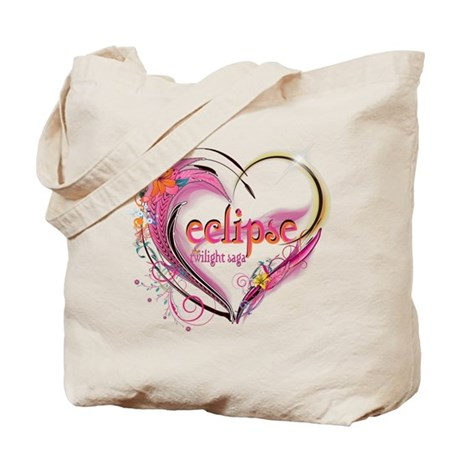 Eclipse Heart Tote Bag