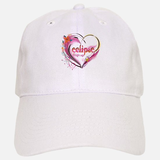 Eclipse Heart Baseball Baseball Cap