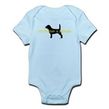 My Brother is a Beagle Infant Bodysuit