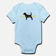 My Sister is a Beagle Infant Bodysuit