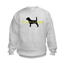 My Sister is a Beagle Sweatshirt