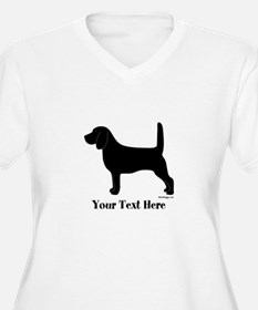 Beagle - Your Text! T-Shirt