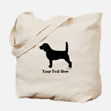 Beagle - Your Text! Tote Bag