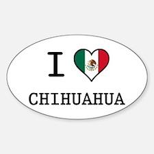 I Love Chihuahua Decal
