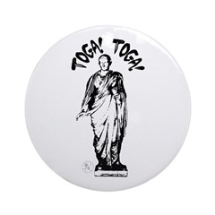 Toga Party Ornament (Round)
