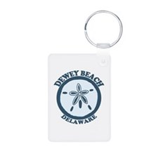 Dewey Beach DE - Sand Dollar Design Keychains