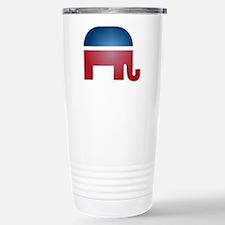 Blurry Elephant Stainless Steel Travel Mug