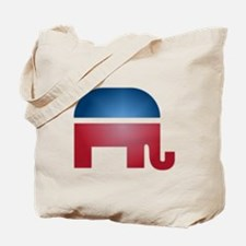 Blurry Elephant Tote Bag