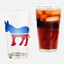 Blurry Donkey Pint Glass