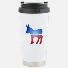 Blurry Donkey Travel Mug