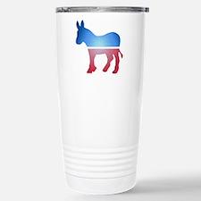 Stained Glass Donkey Travel Mug
