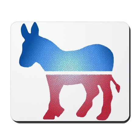 Stained Glass Donkey Mousepad