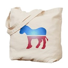Stained Glass Donkey Tote Bag