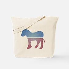 Faded Donkey Tote Bag