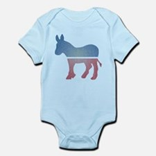 Faded Donkey Infant Bodysuit