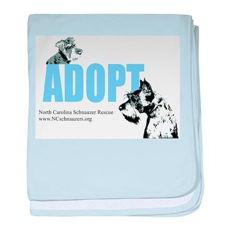 Adopt Logo baby blanket