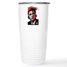 Santa Obama Travel Mug