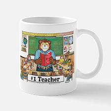 Elementary Teacher, Male -  Mug