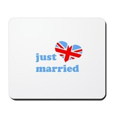 just married (his, union jack Mousepad