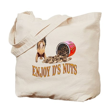 Enjoy D's Nuts Tote Bag
