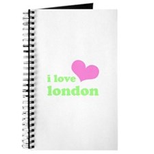 i love london (pink/green) Journal