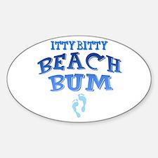 Cute Chesney Sticker (Oval)