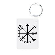 Viking Compass : Vegvisir Keychains