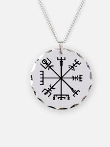 Viking Compass : Vegvisir Necklace