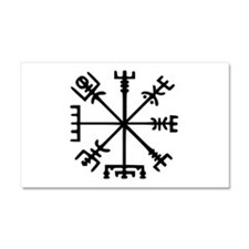 Viking Compass : Vegvisir Car Magnet 20 x 12