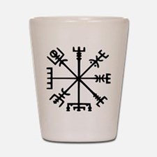 Viking Compass : Vegvisir Shot Glass