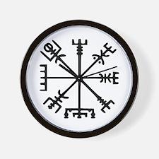 Viking Compass : Vegvisir Wall Clock