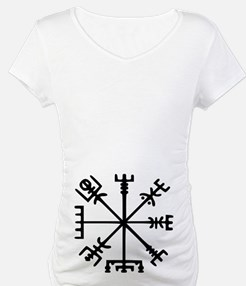 Viking Compass : Vegvisir Shirt