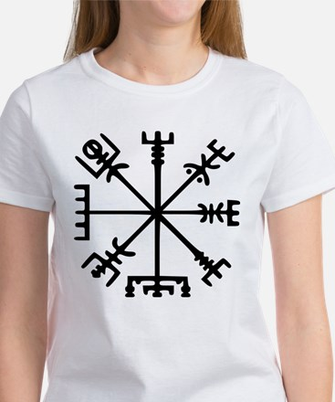 Viking Compass : Vegvisir Women's T-Shirt