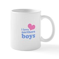 i love northern boys (heart, Mug