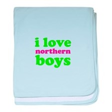 i love northern boys (text, g baby blanket