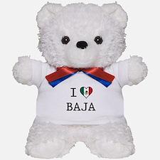 I Love Baja Teddy Bear