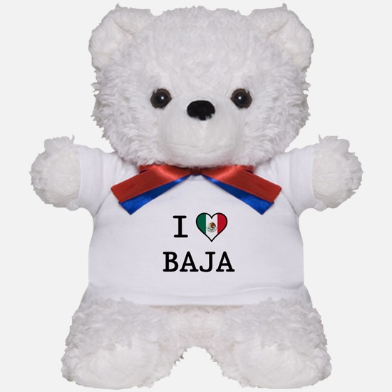 I Love Baja Teddy Bear