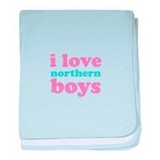 i love northern boys (text, p baby blanket