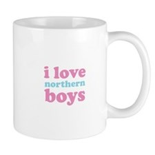 i love northern boys (text, p Mug