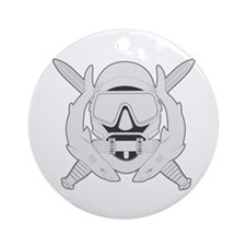 Spec Ops Diver Ornament (Round)